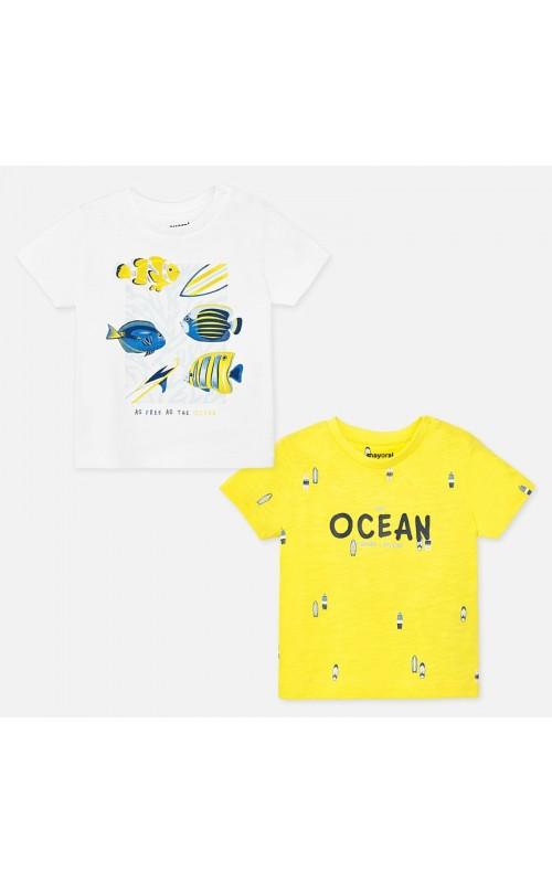 Chlapčenské tričko MAYORAL 1051 - 2 PACK
