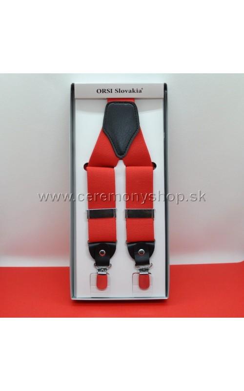 Traky červené ORSI 3,5 cm