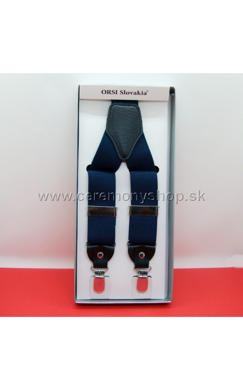 Traky modré ORSI 3,5 cm