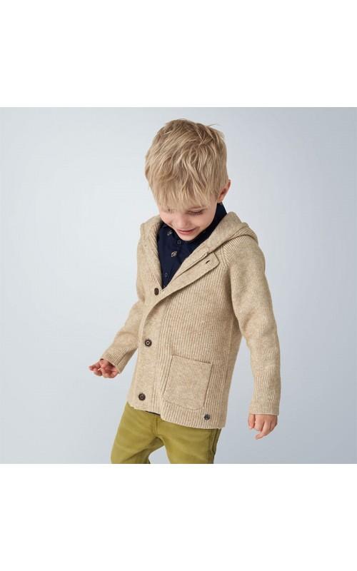 Chlapčenský sveter s kapucňou MAYORAL 4340