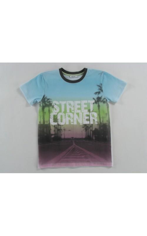 Chlapčenské tričko AT THE STREET CORNER