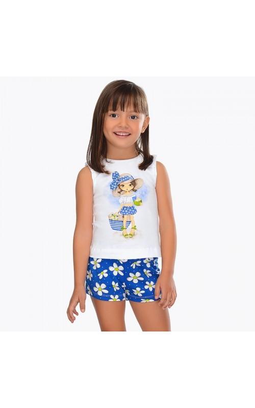 Dievčenský set (tričko+šortky) MAYORAL 3222