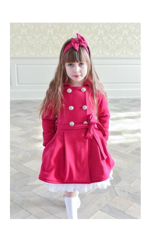 Dievčenský kabátik AMARANT