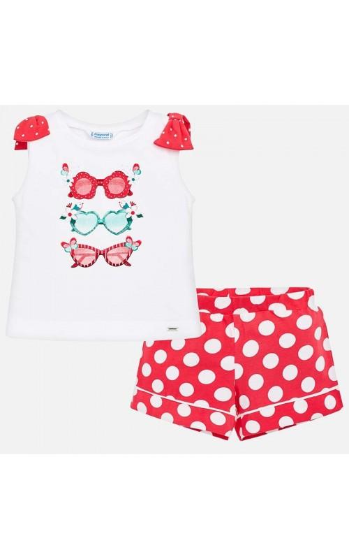 Dievčenský set (tričko+šortky) MAYORAL 3216