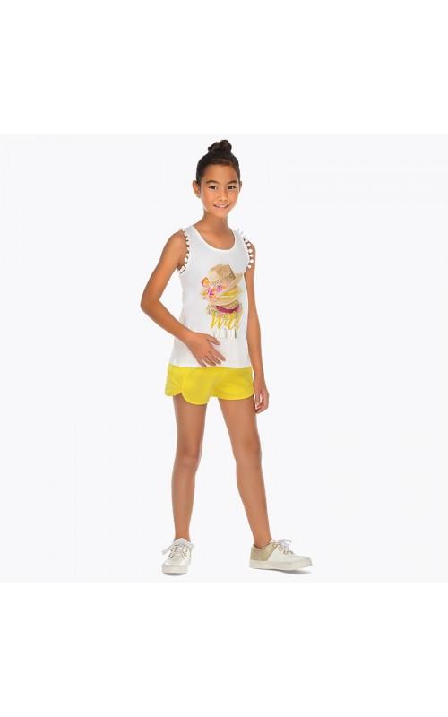 Dievčenský set (tričko+šortky) MAYORAL 6212