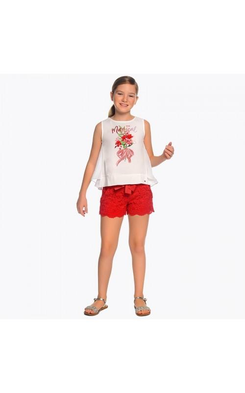 Dievčenské šortky MAYORAL 6201