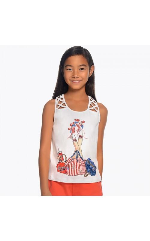 Dievčenské tričko MAYORAL 6031