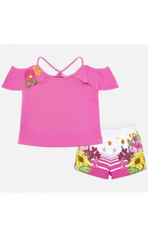 Dievčenský set (tričko+šortky) MAYORAL 6216