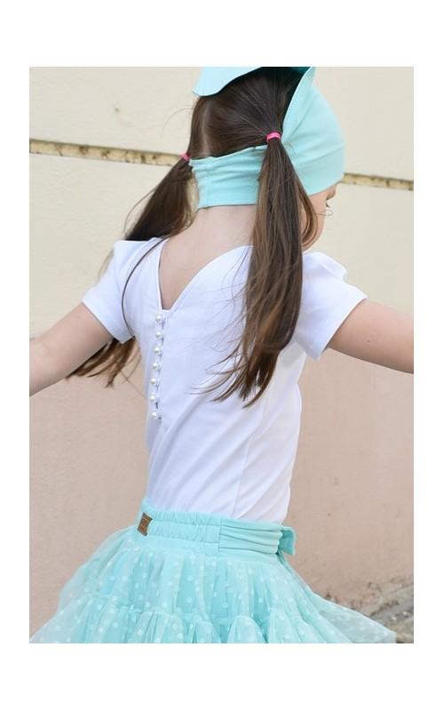 Dievčenské tričko TOP WHITE