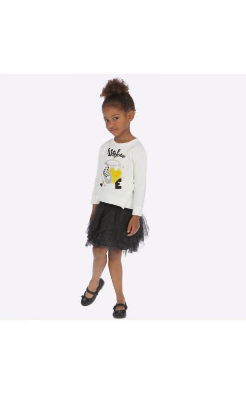 Dievčenský set (tričko+sukňa) MAYORAL 4951