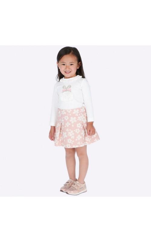 Dievčenský set (tričko+sukňa) MAYORAL 4947