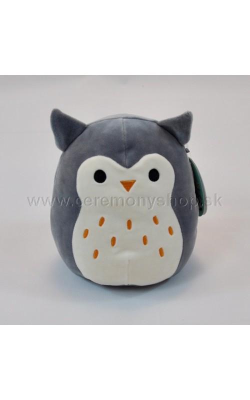Plyšová hračka sovička Hoot - SQUISHMALLOWS