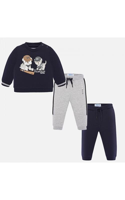 Chlapčenský set (tričko+2x tepláky)