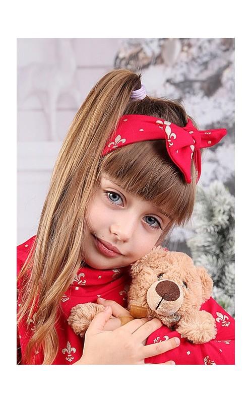 Dievčenská čelenka STELLA RED