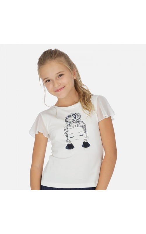 Dievčenské tričko MAYORAL 6004