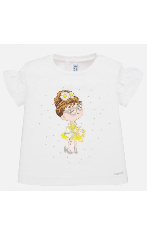 Dievčenské tričko MAYORAL 1056