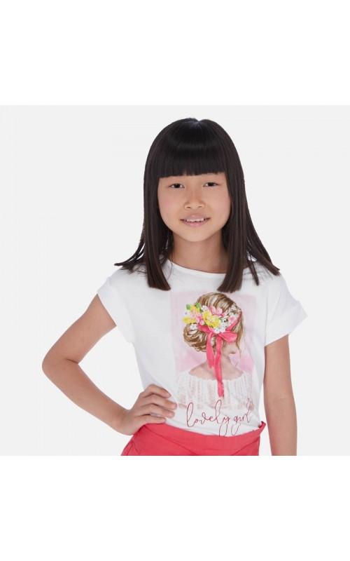 Dievčenské tričko MAYORAL 6002