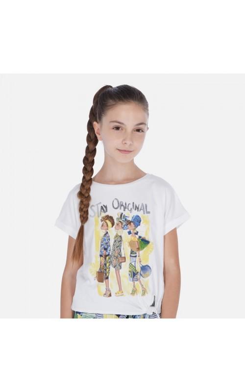 Dievčenské tričko MAYORAL 6020