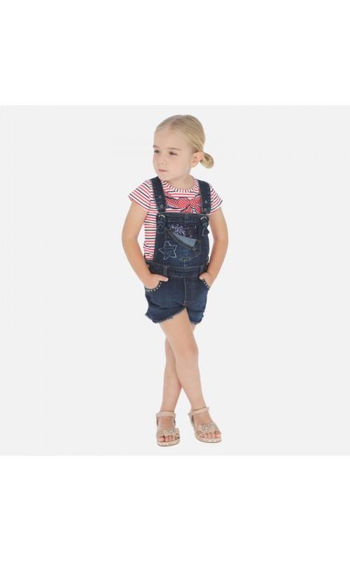 Dievčenské šortky na traky MAYORAL 3632