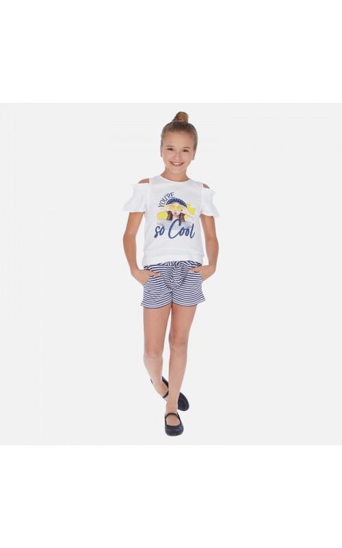 Dievčenský set (tričko+šortky) MAYORAL 6259