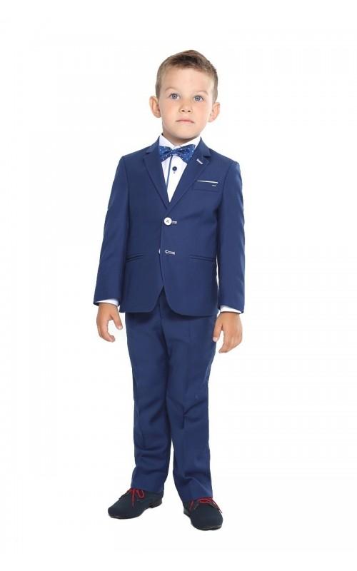 Chlapčenský oblek KOBALT WHITE