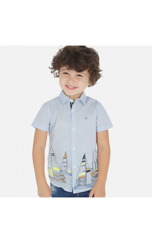 Chlapčenská košeľa MAYORAL 3165