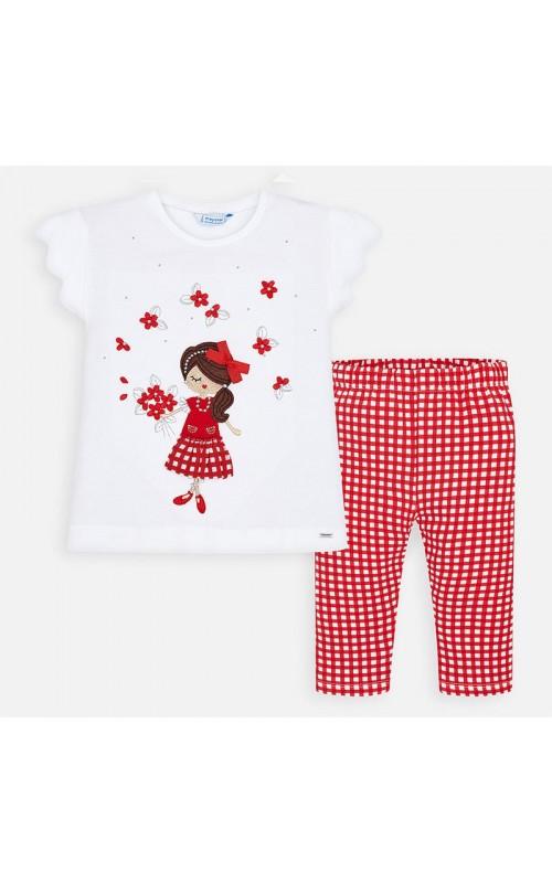 Dievčenský set (tričko+legíny) MAYORAL 3454