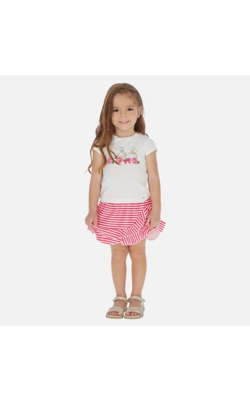 Dievčenský set (tričko+sukňa) MAYORAL 3964