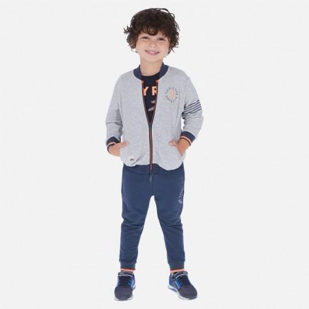Chlapčenský set (mikina+šortky+tepláky) MAYORAL 3813