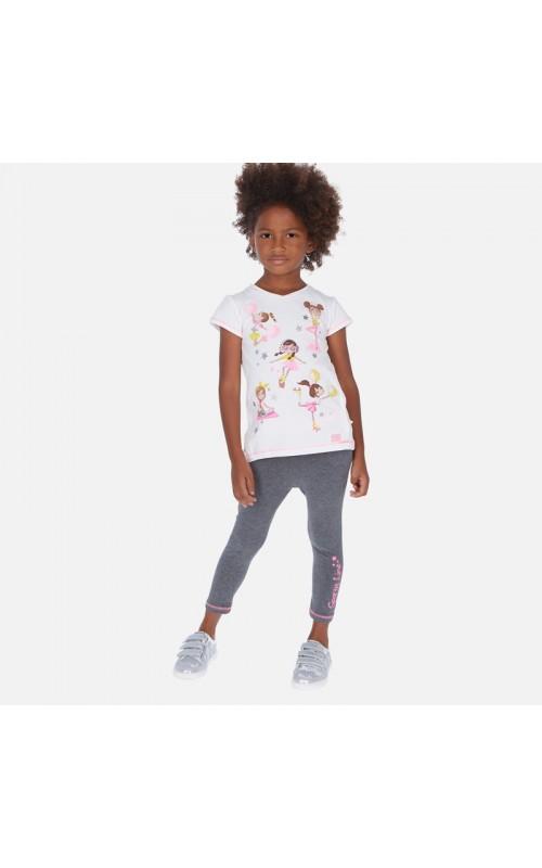 Dievčenský set (tričko+legíny) MAYORAL
