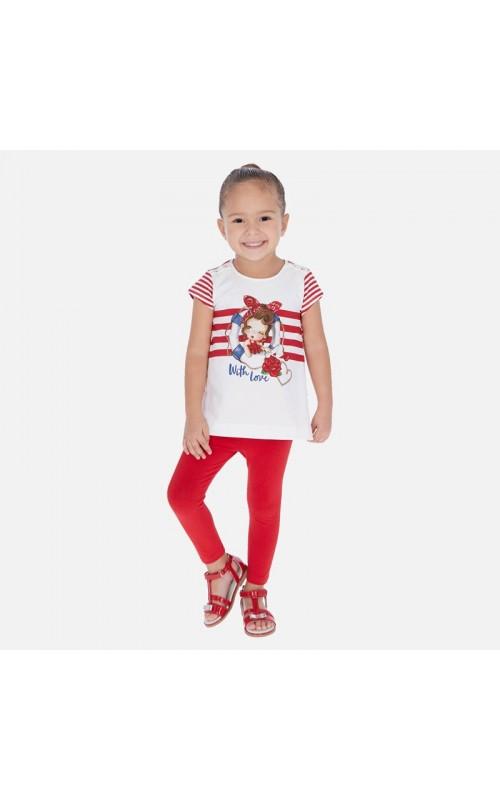Dievčenský set (tričko+legíny) MAYORAL 3723