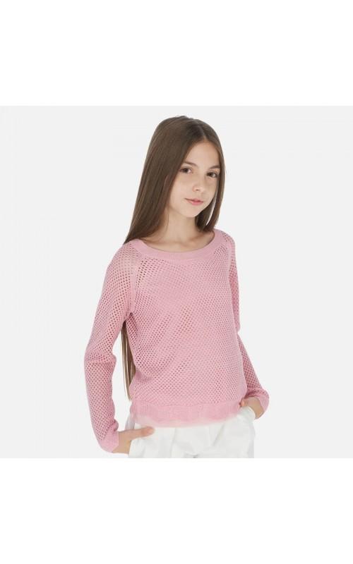 Dievčenský pulóver + top MAYORAL 6312
