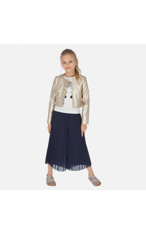 Dievčenská nohavicová sukňa MAYORAL 6955