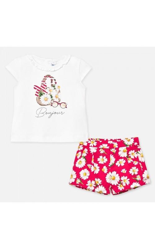 Dievčenský set (tričko+šortky) MAYORAL 1212